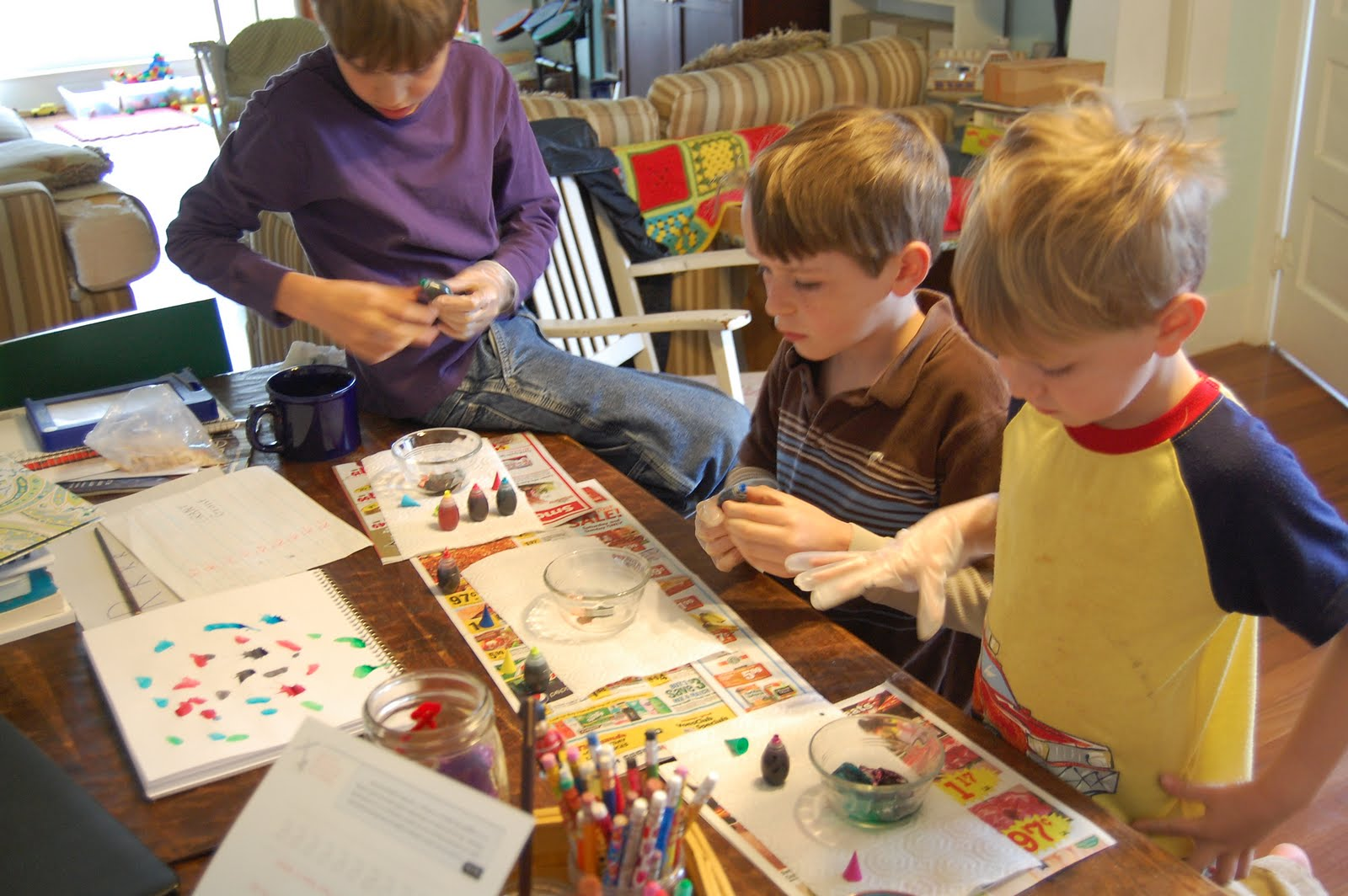 at home with homeschooling Homeschooling or homeschool (also called home education or home based learning) is the education of children at home, typically by parents or by tutors, rather than.